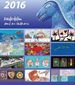 Tolle Kunstwerke im Überblick - der neue Umwelt-Kalender 2016